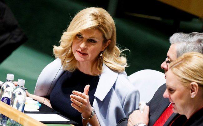 Grabar-Kitarović preuzela predsjedanje Vijećem žena svjetskih lidera Fgbndgfbgfbgfg