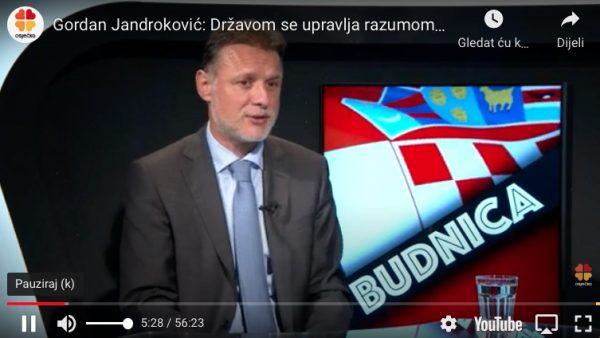 JANDROKOVIĆ: Hrvatska je u EU otvorila pitanje trećeg entiteta Crop-579